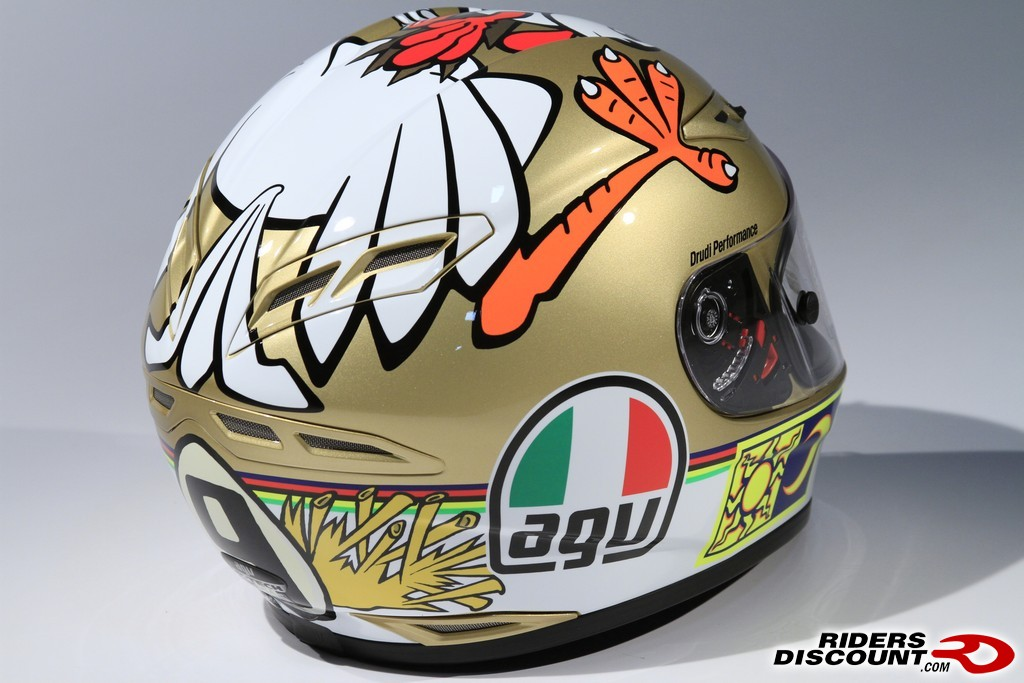 valentino rossi chicken helmet Photo