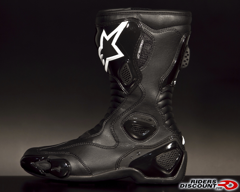alpinestars s mx 5 boots new colors available for 2012. Black Bedroom Furniture Sets. Home Design Ideas
