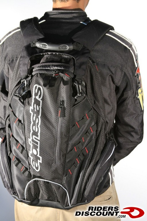 Alpinestars Deploy Pack Motorcycle Backpack - Suzuki SV650 Forum ...