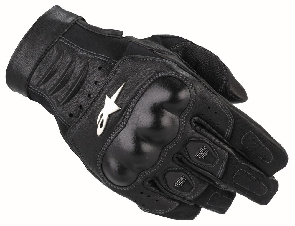 Alpinestars Alloy Leather Motorcycle Gloves Kawasaki Klr
