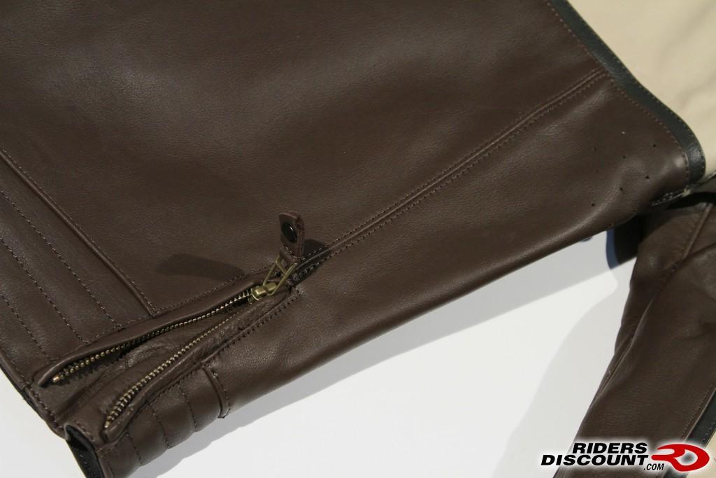Alpinestars drift leather jacket