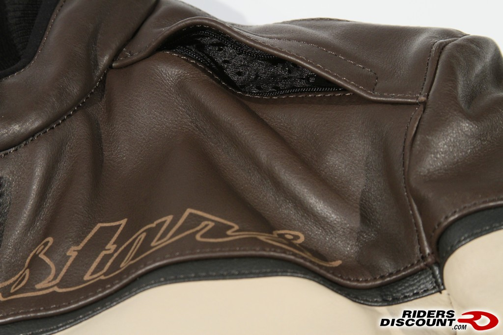 Alpinestars drift leather jacket