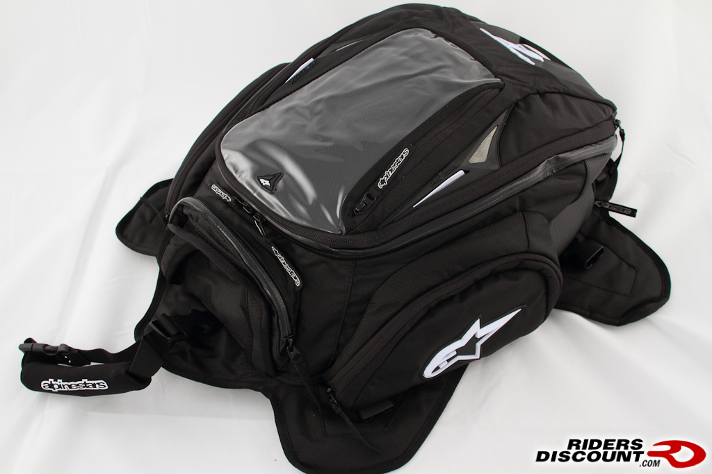 ...bag and backpack, all in one - that's what the Alpinestars Tech Aero...