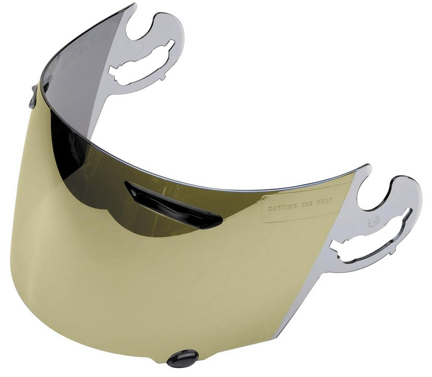 Arai corsair v rx q mirrored visors now available bmw for Mirror visor