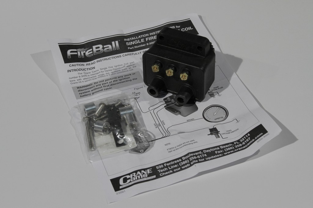 FireBall Ignition Coils from Crane Cams : V-Twin Forum: Harley
