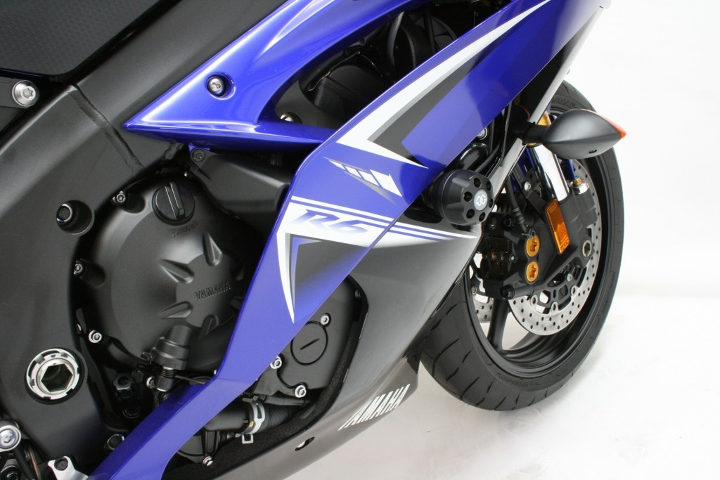 report this image - Motorcycle Frame Sliders