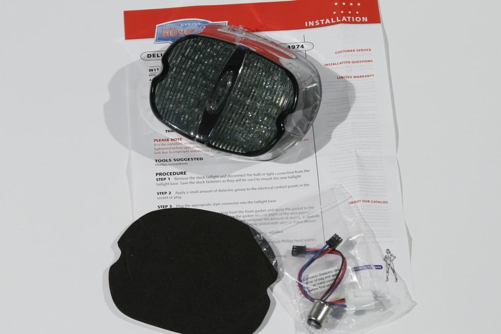 kuryakyn led taillight conversion kit v twin forum. Black Bedroom Furniture Sets. Home Design Ideas