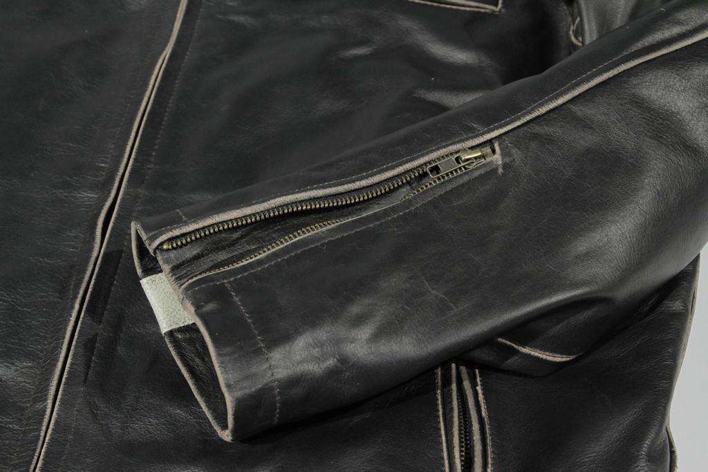 River Road Hoodlum Vintage Leather Jacket 89
