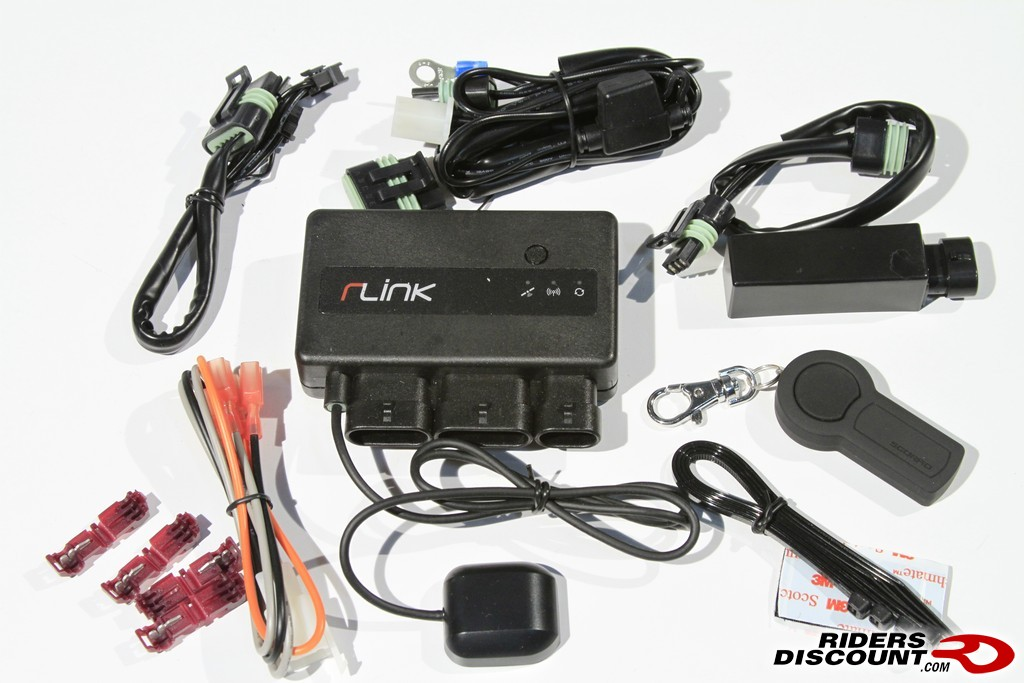 Scorpio Rlink Motorcycle Alarm System   V